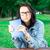 brunetka · okulary · przeczytać · książki · kobieta · dziewczyna - zdjęcia stock © vankad