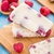 Frozen yogurt with oats and raspberries stock photo © vankad
