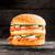 double burger with salmon stock photo © vankad