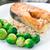 salmone · pesce · ristorante · verde · limone - foto d'archivio © vankad