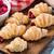 croissant · frambozen · vruchten · cake · ontbijt · witte - stockfoto © vankad