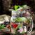 gezonde · drinken · bessen · water · ijs - stockfoto © vankad