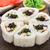 flower made of sushi roll stock photo © vankad