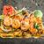 zöldség · barbecue · nyárs · vacsora · kukorica · paradicsom - stock fotó © vankad