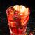 vörösáfonya · koktél · közelkép · izolált · fehér · szemüveg - stock fotó © vankad