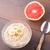 oat porridge with banana and grapefruit stock photo © vankad