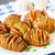 accordion baked potatoes with bacon stock photo © vankad