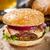 Burger · говядины · бекон · сыра - Сток-фото © vankad