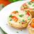 setas · relleno · mozzarella · tomate · tomate · cherry · alimentos - foto stock © vankad