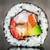 sushi roll with salmon shrimps and avocado stock photo © vankad