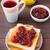 sandviç · reçel · yarım · ekmek · beyaz - stok fotoğraf © vankad