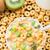 Bowl of honey corn rings stock photo © vankad