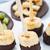 gyümölcs · nyárs · csokoládé · étel · reggeli · banán - stock fotó © vankad