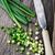 picado · imagem · cebolas · água · doce · água - foto stock © vankad