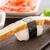 sushi · vers · tonijn · zalm · garnalen · hand - stockfoto © vankad