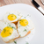 yumurta · mini · çavdar · tost · yeşil · soğan - stok fotoğraf © vankad