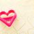 corazón · cookie · forma · harina - foto stock © vankad