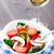 plantaardige · salade · slasaus · beker · lunch - stockfoto © vankad
