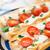 vegetariano · baguette · sándwich · lechuga · tomates · pimienta - foto stock © vankad
