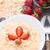 kása · reggeli · eprek · egészséges · házi · készítésű · étel - stock fotó © vankad