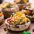 gombák · töltött · zöldségek · paradicsom · piros · paprika · mozzarella - stock fotó © vankad
