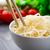 kínai · étel · tál · zöld · tyúk · vacsora - stock fotó © vankad