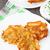 krumpli · palacsinták · finom · fehér · tányér · étel - stock fotó © vankad