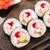 sushi rolls with tobiko and shrimps stock photo © vankad