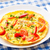 omelet with paprika tomato and herbs stock photo © vankad