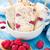 congelada · iogurte · verão · baga · fruto · vermelho - foto stock © vankad