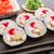 sushi · doldurulmuş · havyar · uçan · balık · makro - stok fotoğraf © vankad
