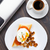 huevo · setas · tomates · placa · oficina · café - foto stock © vankad