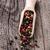 geheel · zaden · witte · lepel · houten · tafel · hout - stockfoto © vankad
