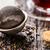 茶 · 孤立した · 白 · 金属 · ボール · スタジオ - ストックフォト © vankad