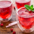 cranberry cocktail with mint garnish stock photo © vankad