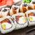 тунца · сашими · деревянный · стол · продовольствие · рыбы · таблице - Сток-фото © vankad