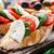 bruschetta · paradicsomok · mozzarella · bazsalikom · olasz · sajt - stock fotó © vankad