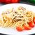 спагетти · итальянская · кухня · продовольствие · ресторан · таблице - Сток-фото © vankad