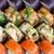 刺身 · 寿司 · セット · 食品 · 魚 - ストックフォト © vankad