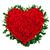 coração · buquê · rosas · vermelhas · isolado · branco - foto stock © vankad