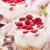 framboesa · colher · sobremesa · framboesas · tigela · branco - foto stock © vankad