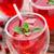 cocktail · mint · garnering · houten · tafel · water - stockfoto © vankad