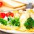 broccoli · roquefort · salsa · uovo · cena · uova - foto d'archivio © vankad