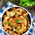 フライド · ジャガイモ · プレート · 塩 · ニンニク - ストックフォト © vankad