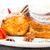 sült · disznóhús · borda · kotlett · fa · deszka · hús - stock fotó © vankad