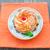 ケーキ · プレート · 桜 · オレンジ · 表 - ストックフォト © vankad