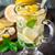 limón · té · vidrio · taza · menta · vertical - foto stock © vankad