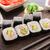 sushi rolls with shrimp and avocado stock photo © vankad