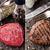 bife · tomates · comida · cozinha - foto stock © vankad