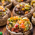funghi · ripieno · mozzarella · pomodoro · pomodorini · alimentare - foto d'archivio © vankad